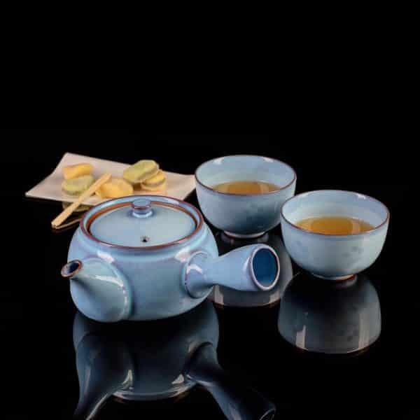 Чайник кюсу голубой Пробуждение_2