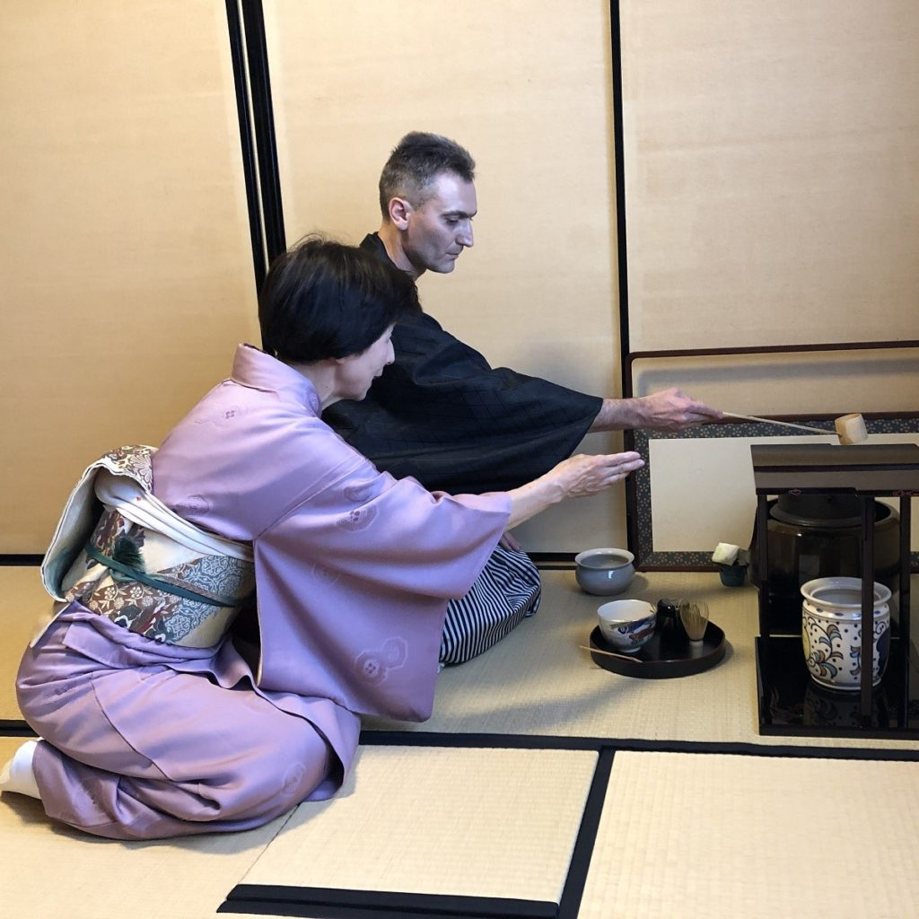 Japanese tea ceremon